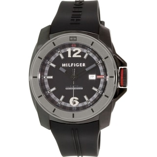 Tommy Hilfiger Men's 1791114 Black Bead Quartz Watch