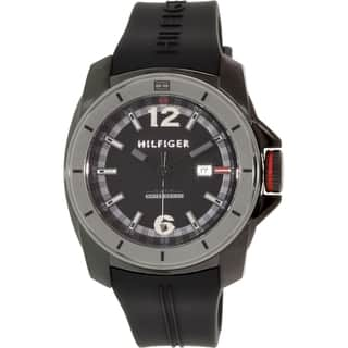 Tommy Hilfiger Men's 1791114 Black Bead Quartz Watch|https://ak1.ostkcdn.com/images/products/9952720/P17106740.jpg?impolicy=medium