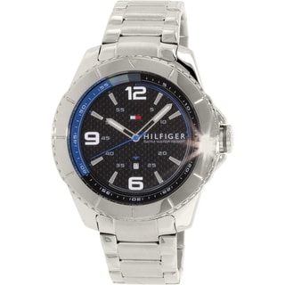 Tommy Hilfiger Men's 1791002 Silver Stainless Steel Quartz Watch