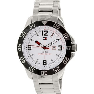 Tommy Hilfiger Men's 1790988 Silver Stainless Steel Quartz Watch