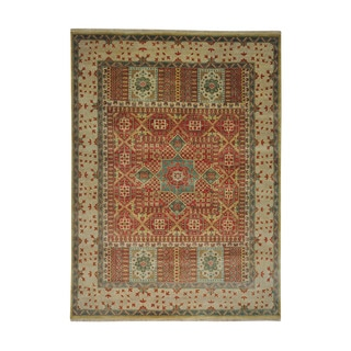 Handmade Oriental Vegetable Dyes Mamluk Rug (8'10 x 12')