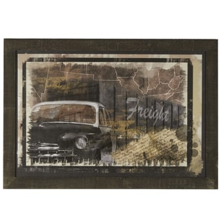 'Y'all Freight' Wood Mounted Giclee Print Wall Art