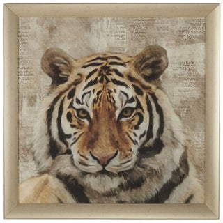 Eye of the Tiger Framed Giclee Print Wall Art