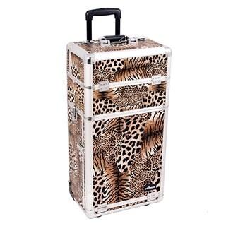 Sunrise Leopard Rolling Makeup Case