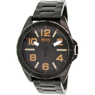 Hugo Boss Men's 1513001 Black Stainless Steel Quartz Watch