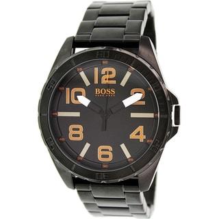 Hugo Boss Men's 1513001 Black Stainless Steel Quartz Watch