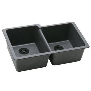 Elkay Gourmet Undermount Granite Kitchen Sink