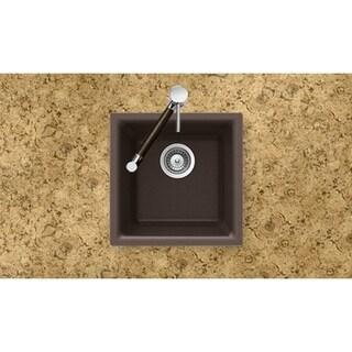 Houzer Undermount/ Drop-in Mocha Granite Kitchen Sink