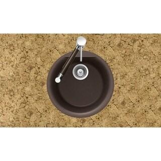 Houzer Undermount/ Drop-in Nero Granite Kitchen Sink