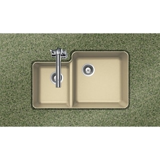 Houzer Cristaliteplus Undermount Sand Granite Kitchen Sink