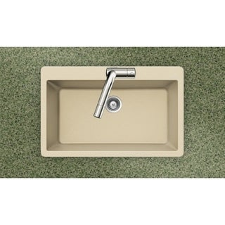 Houzer Cristadur Drop-in Sand Granite Kitchen Sink
