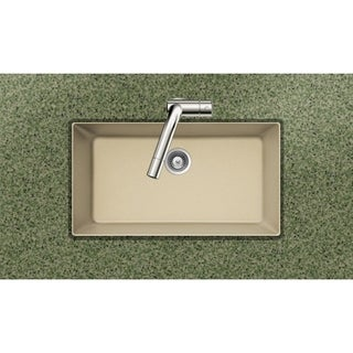 Houzer Cristadur Undermount Sand Granite Kitchen Sink