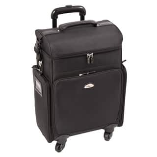 Sunrise All Black Professional Carry-on Rolling Makeup Case https://ak1.ostkcdn.com/images/products/9953232/P17107171.jpg?impolicy=medium