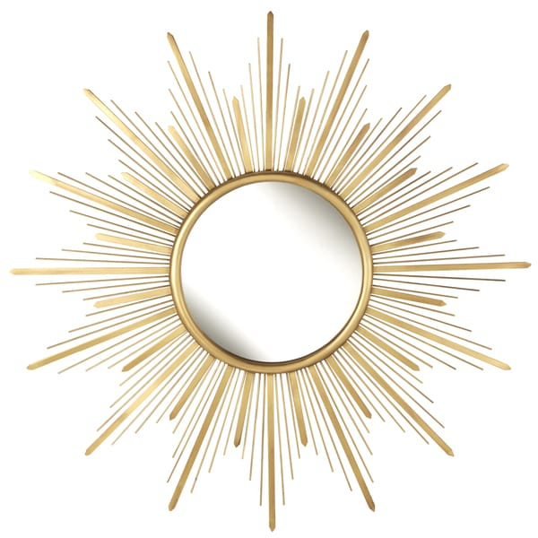 Gold Starburst Metal Wall Mirror. Opens flyout.