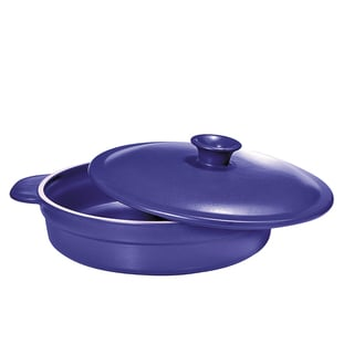 French Home 1.4-quart French Blue Flame Top Saute Pan
