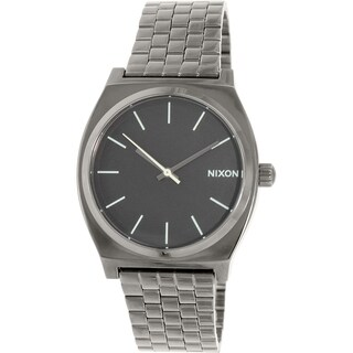 Nixon Men's Time Teller A0451885 Gunmetal Stainless-Steel Quartz Watch