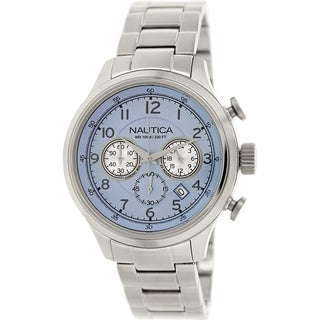 Nautica Men's Nct 16 N19631G Stainless Steel Quartz Watch