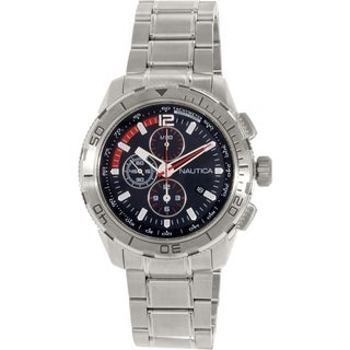 Nautica Men's Nst N22636G Stainless Steel Quartz Watch