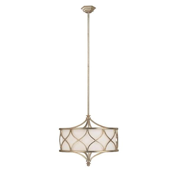 Capital Lighting Fifth Avenue Collection 3 Light Winter Gold Pendant