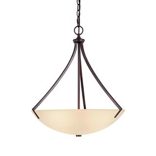 Capital Lighting Stanton Collection 3-light Burnished Bronze Pendant