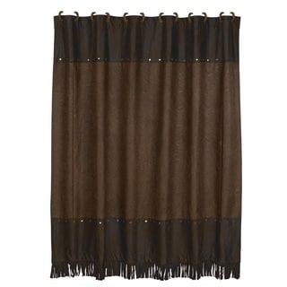Shower Curtains chocolate brown shower curtains : Brown Shower Curtains - Overstock.com - Vibrant Fabric Bath Curtains