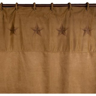 HiEnd Accents Luxury Star Shower Curtain