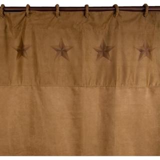 HiEnd Accents Luxury Star Shower Curtain