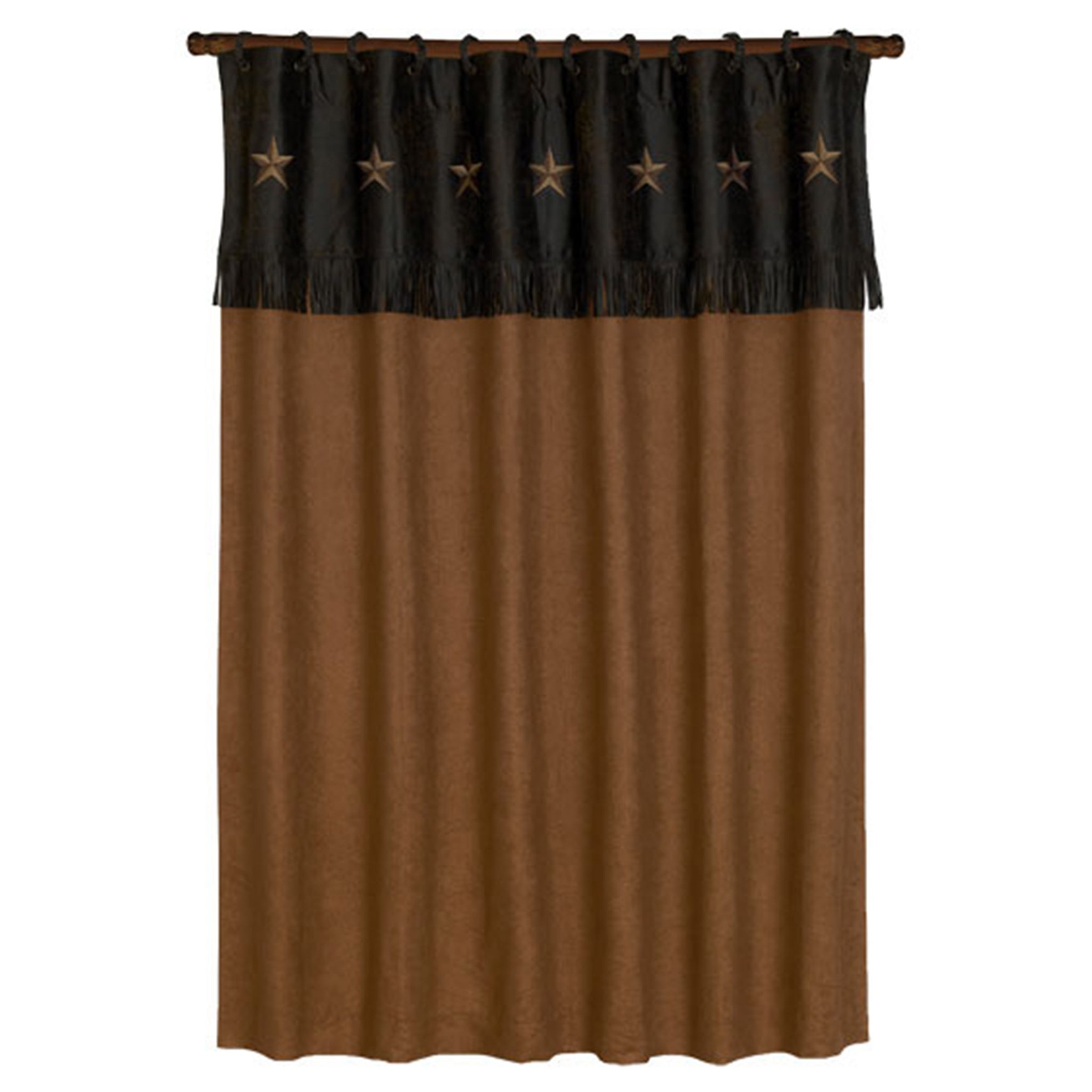 HiEnd Accents Laredo Shower Curtain (Laredo Shower Curtai...