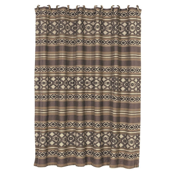 HiEnd Accents Tucson Shower Curtain