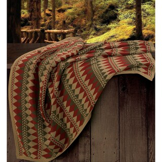 HiEnd Accents Wilderness Ridge Knitted Throw