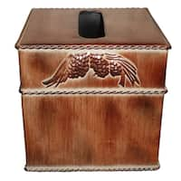 HiEnd Accents Pine Cone Tissue Box