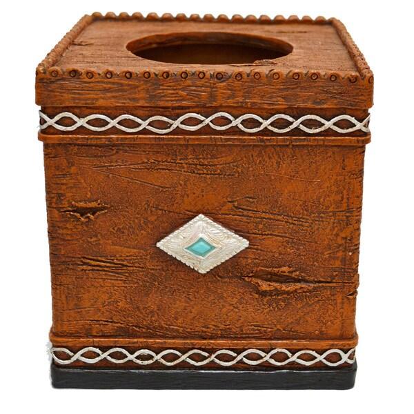 HiEnd Accents Southwestern Tissue Box