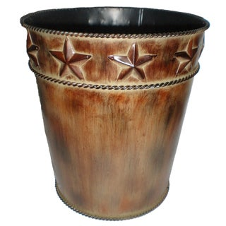 HiEnd Accents Star Waste Basket