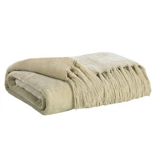 Signature Designs by Ashley Revere Playa Off-white Throw (Set of 3)