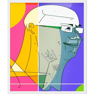 Ofir Sasson Assaf Friedman Framed Fine Art Print