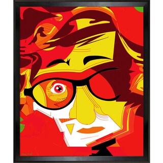 Ofir Sasson Woody Framed Fine Art Print