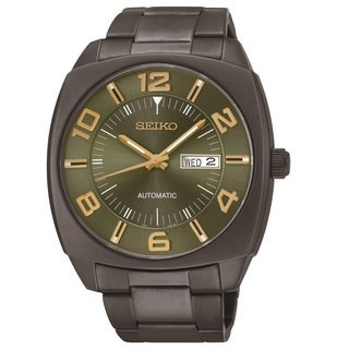 Seiko Men's SNKN35 Stainless Steel Automatic Watch