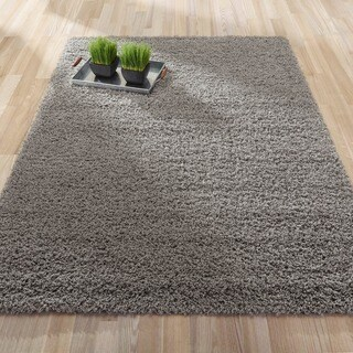 Ottomanson Ottomanson Shag Collection Solid Design Shag Area Rug (7'10 x 9'10)