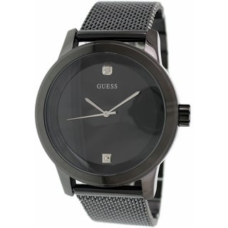 Guess Women's U0297G1 Black Stainless Steel Quartz Watch