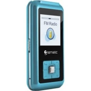 Ematic EM208VID 8 GB Blue Flash Portable Media Player|https://ak1.ostkcdn.com/images/products/9953853/P17107703.jpg?impolicy=medium