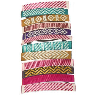 Colorful Cana Flecha Pack of 6 Barrettes (Colombia)