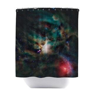 Rho Ophiuchi Shower Curtain