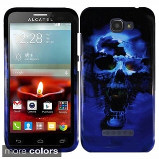 Insten Hard Snap-on Rubberized Matte Phone Case Cover For Alcatel One Touch Fierce 2 7040T