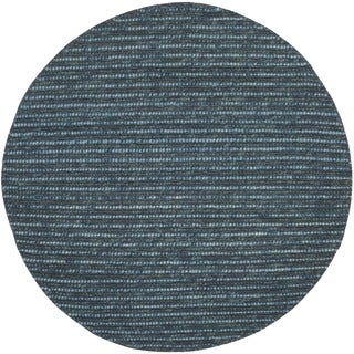 Safavieh Hand-knotted Bohemian Dark Blue/ Multi Hemp Rug (8' Round)