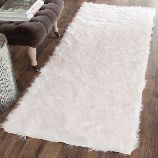 Safavieh Faux Sheepskin Rug: Shop Safavieh Faux Sheepskin Ivory Japanese Acrylic Rug