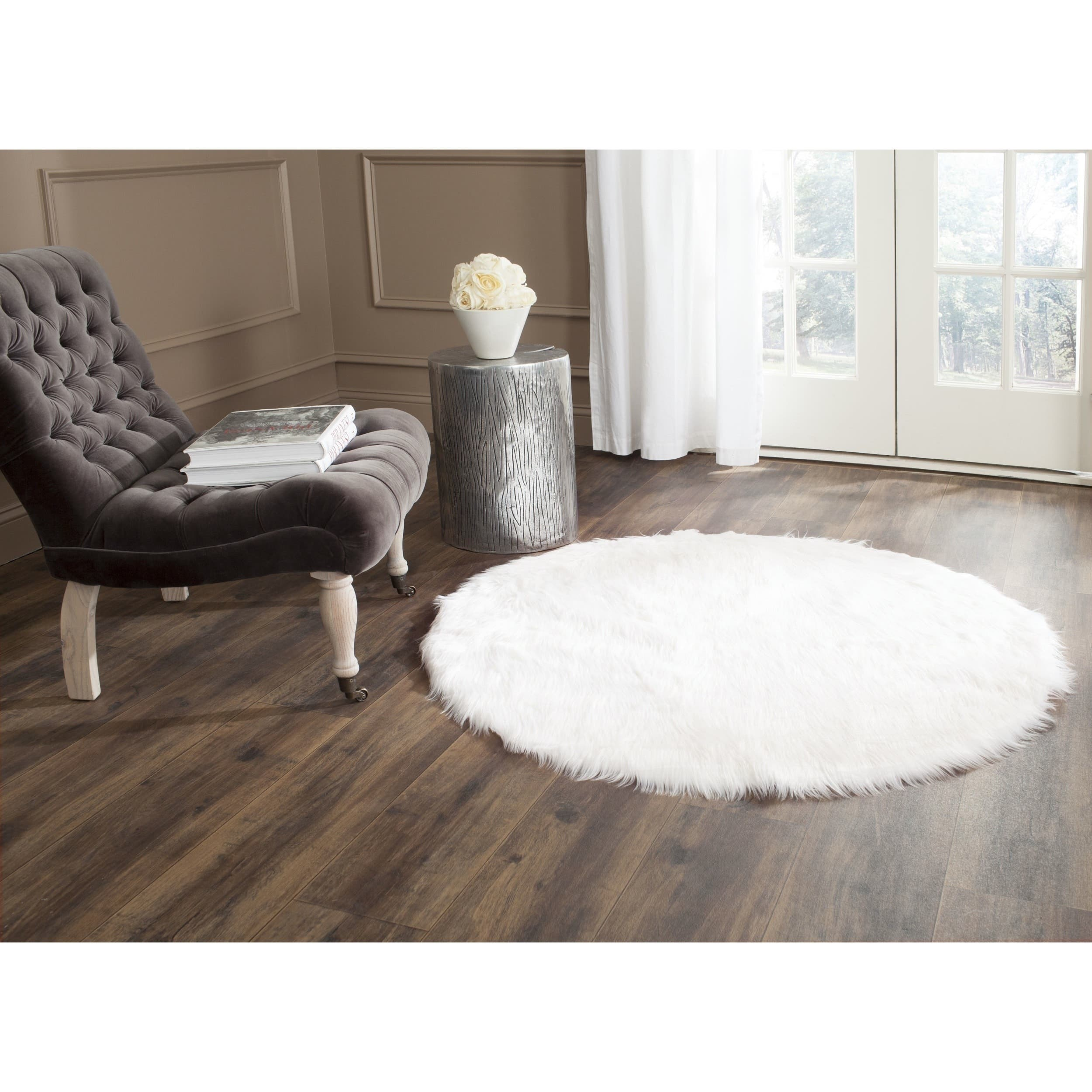 Sheepskin Rug Square: Buy Round, Oval & Square Area Rugs Online At Overstock.com