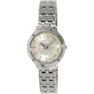 Armani Exchange Women's Active AX5415 Stainless Steel Quartz Watch|https://ak1.ostkcdn.com/images/products/9954443/P17108205.jpg?impolicy=medium