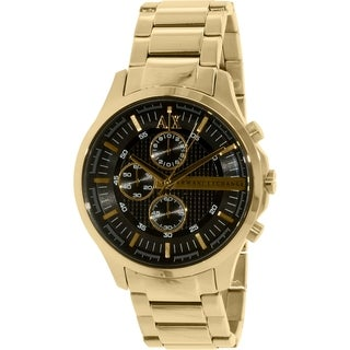 Armani Exchange Men's Smart AX2137 Goldtone Stainless Steel Quartz Watch