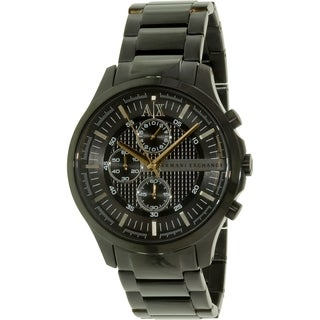 Armani Exchange Women's Smart AX2138 Black Stainless Steel Quartz Watch