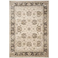 Safavieh Vintage Oriental Ivory/ Brown Distressed Rug - 9' x 12'